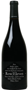 Row Eleven Pinot Noir Santa Maria Valley 2013 750ml